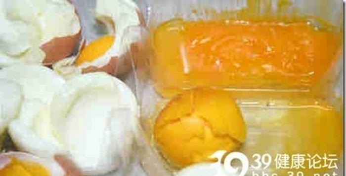 Поддельные яйца (9 фото)