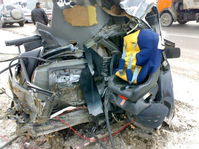 Необычная авария (4 фото)