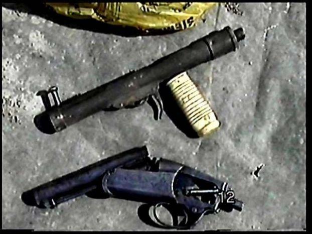 Самодельное оружие чеченских боевиков (15 фото)