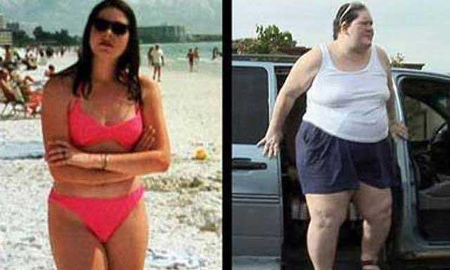 Огромная женщина (7 фото)