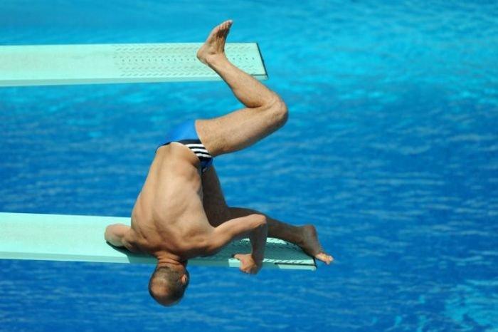 Неудачный прыжок (5 фото)