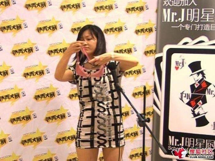 Случай на шоу талантов в Китае (9 фото)