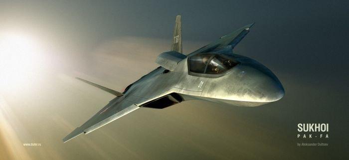 Новый российский истребитель (8 фото)