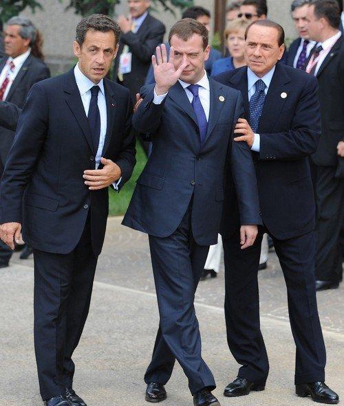 Эмоции президента (5 фото)