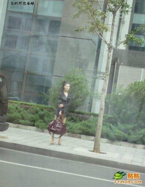 Как одеваются девушки в Пекине (4 фото)