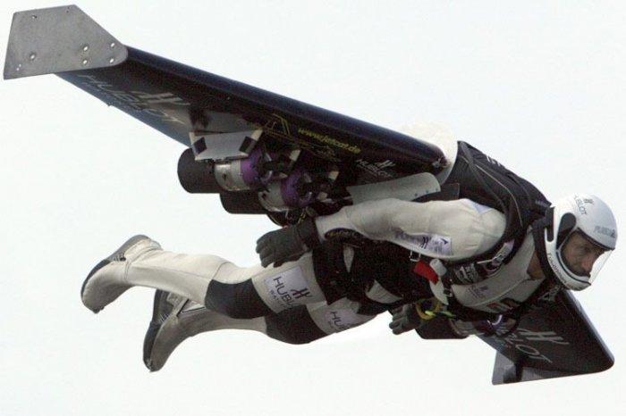 Самолет-ранец (11 фото + текст)