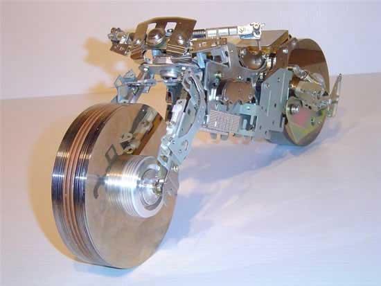 Необычный мотоцикл (6 фото)