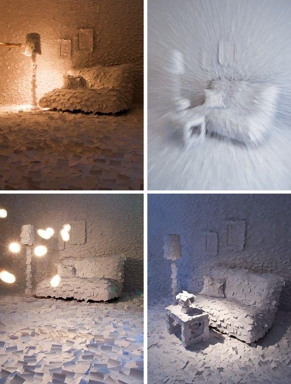 Креатив из бумаги (10 фото)