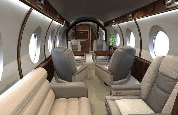 Новый сверхзвуковой самолет (12 фото)