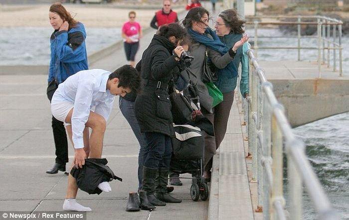 Спасение собаки (7 фото)