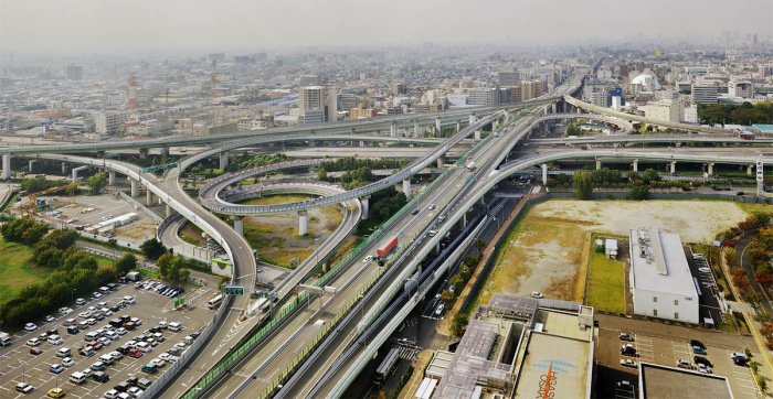Дороги в Японии (20 фото)