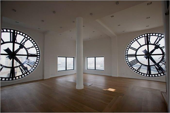Квартира в башне с часами (13 фото)