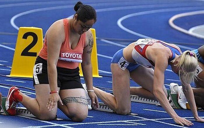Необычная спортсменка (11 фото)