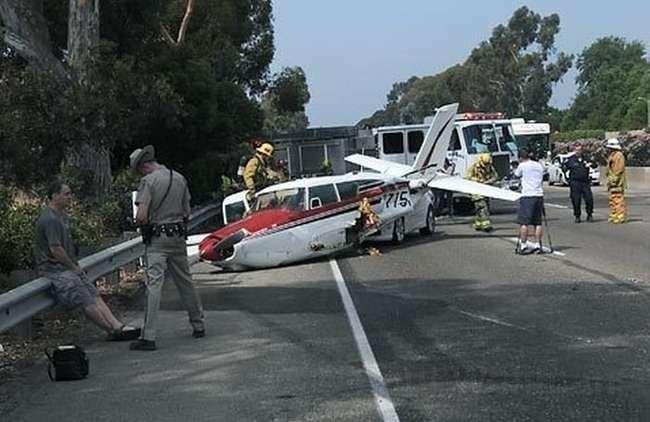 Аварийная посадка (9 фото)