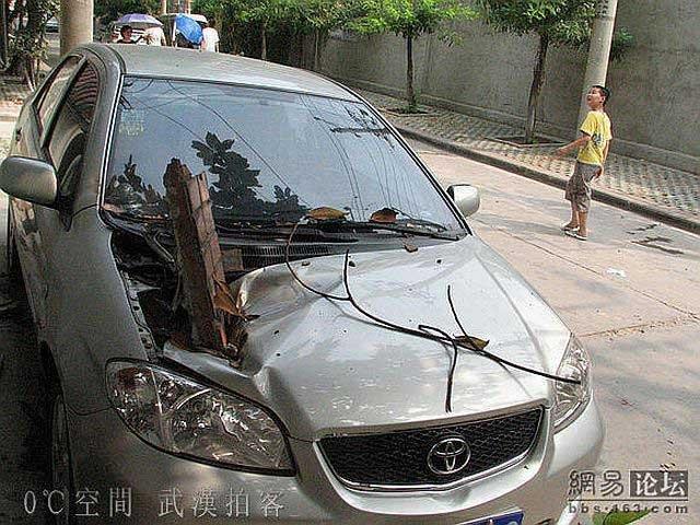 Неудачная парковка (5 фото)