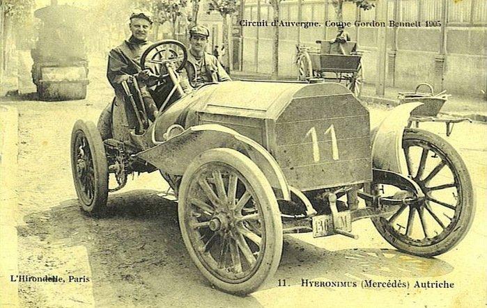 Гоночные автомобили начала 20-го века (20 фото)