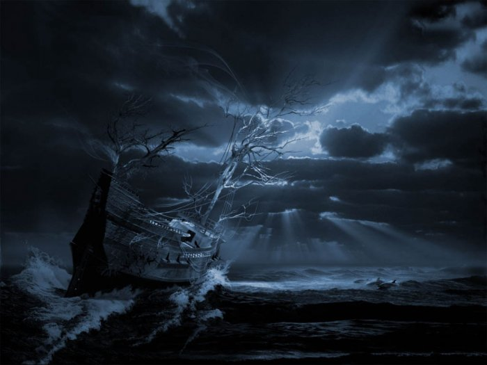 Души забытых кораблей (12 фото)
