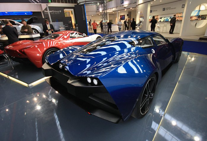 Российский суперкар Marusya (12 фото)