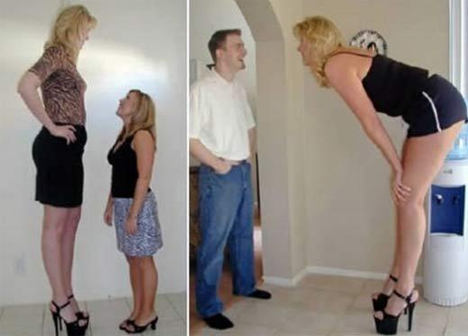 Очень высокие женщины (7 фото + текст)