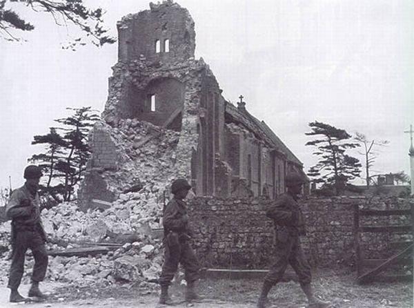 Нормандия. Во время войны и сейчас (203 фото)