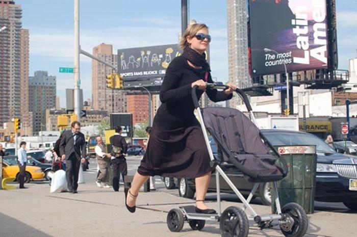 Новая детская коляска (6 фото)
