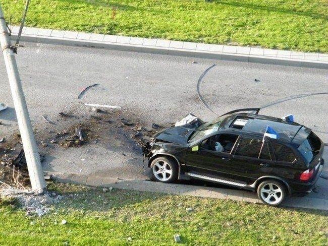 Авария в Эстонии (9 фото)
