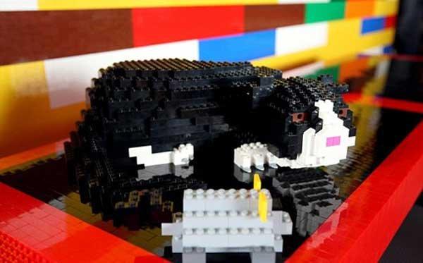 Джеймс Мэй закончил свой дом из Lego (10 фото)