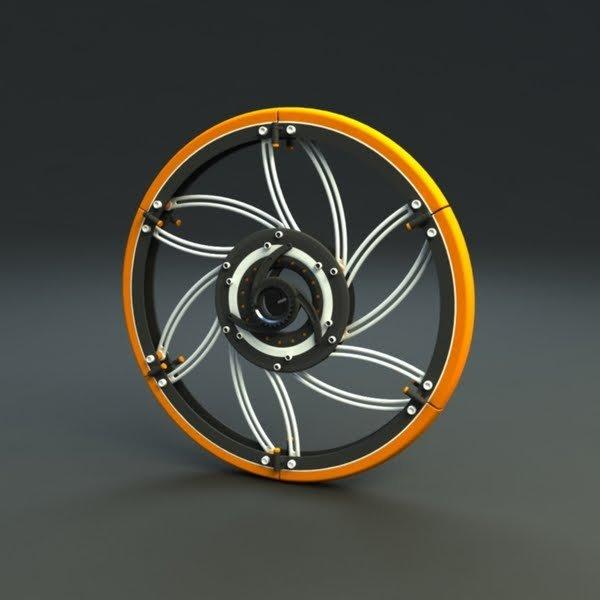 Концепт складного велосипеда (12 фото)