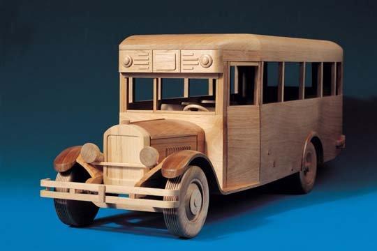 Автобус из дерева своими руками