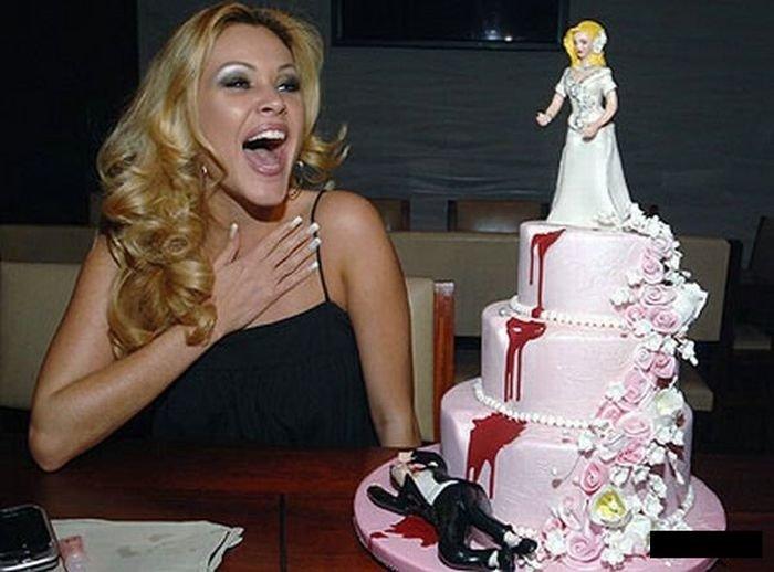 Разводные торты (30 фото)