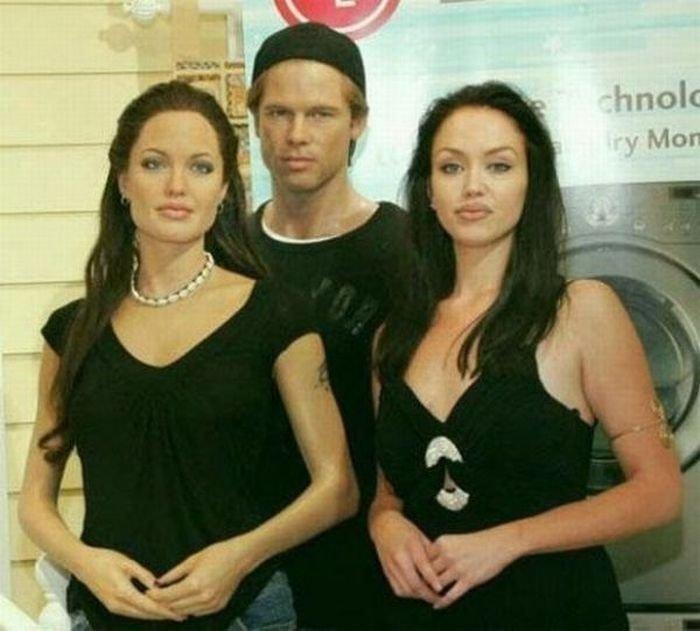 Двойник Анджелины Джоли (18 фото)
