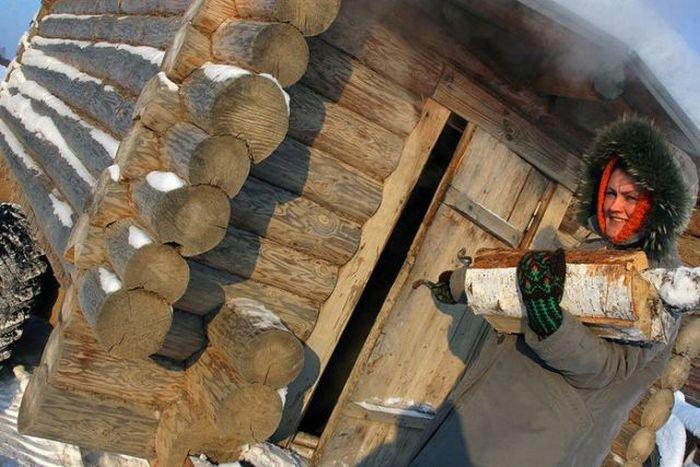 Баня на колесах (6 фото)