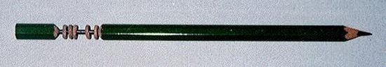 Резьба на карандашах (31 фото)