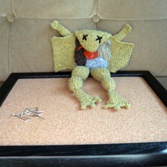 Детские игрушки с внутренностями (17 фото)