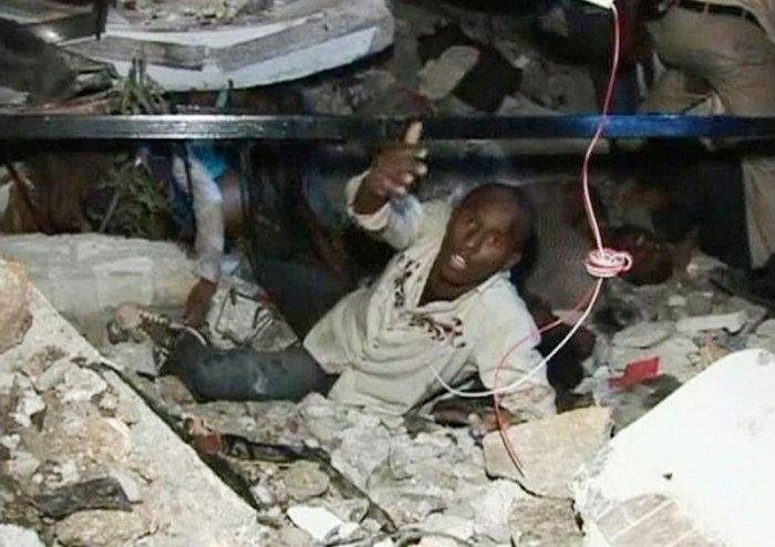 Катастрофа на Гаити (32 фото)