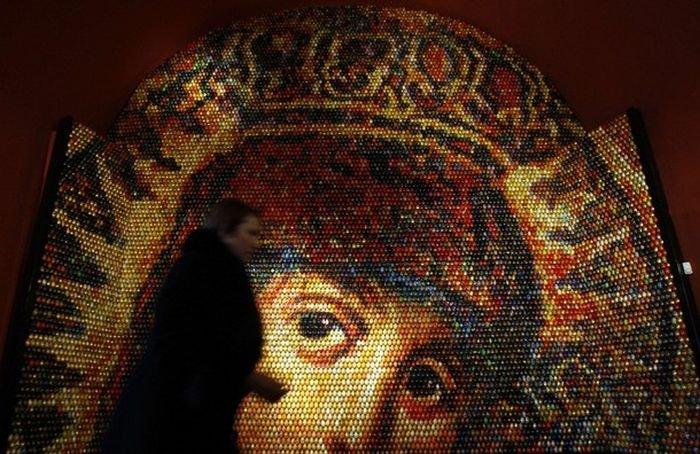 Необычная мозайка (4 фото)