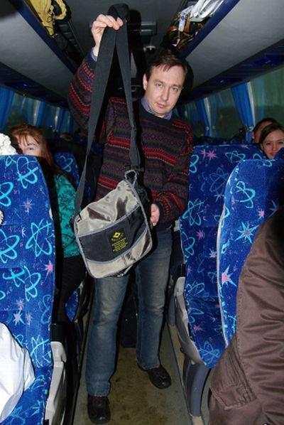 Сюрприз в сумке (5 фото)