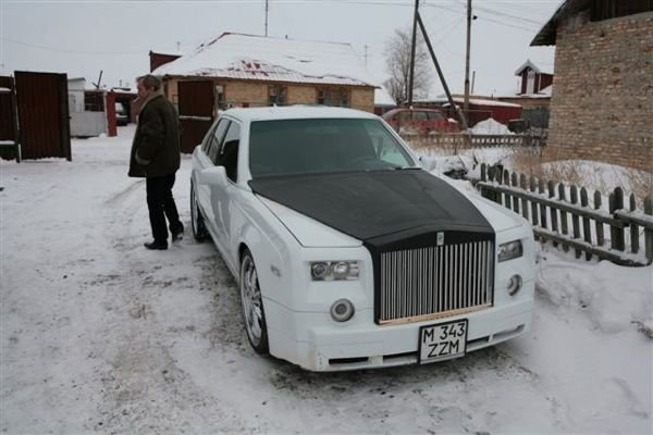 Роллс-Ройс Фантом своими руками (13 фото)