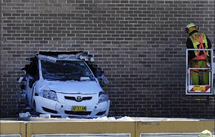 Парковка не удалась (6 фото)