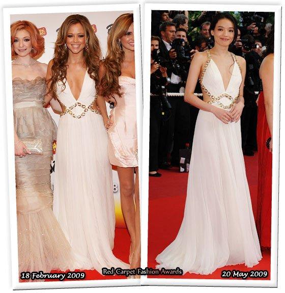 Знаменитости в одинаковой одежде (76 фото)