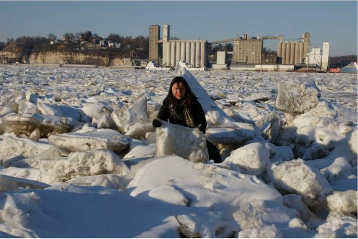 Замерзшая Миссисипи (7 фото)