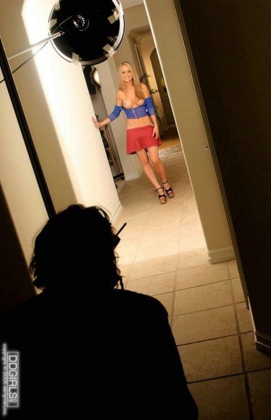 Эротическая фотосессия за кадром (43 фото)