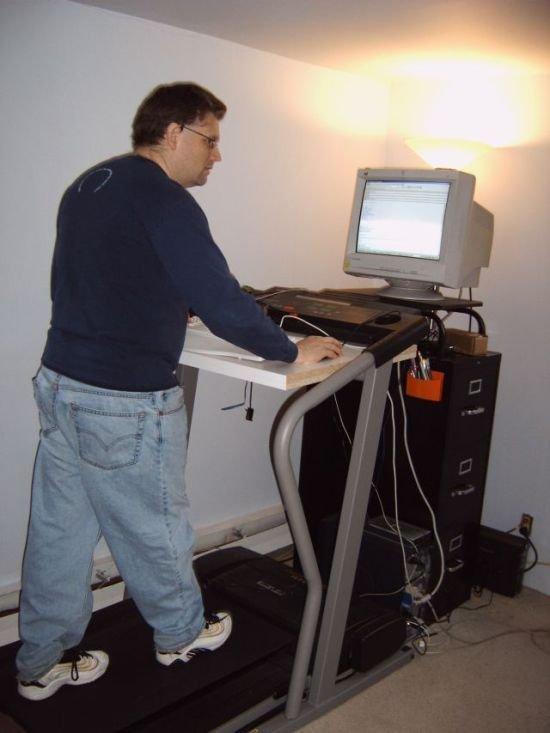 Бег и компьютер (21 фото)