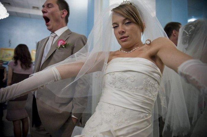 Неудачные свадебные снимки (20 фото)