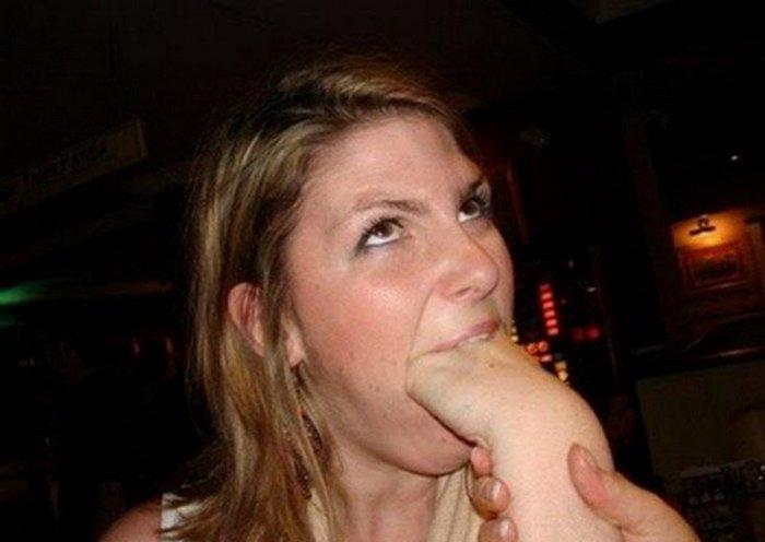 В рот мне руки! (9 фото)