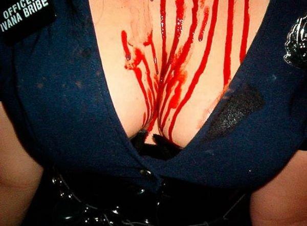 Сексуальные девушки в костюмах на Хеллоуинн (99 фото)