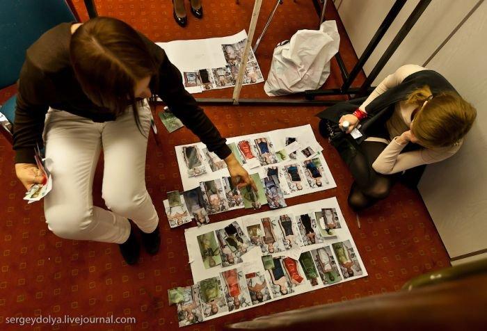 Модели за кулисами (50 фото)