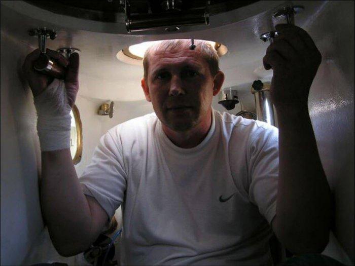 Самодельная подлодка (29 фото)