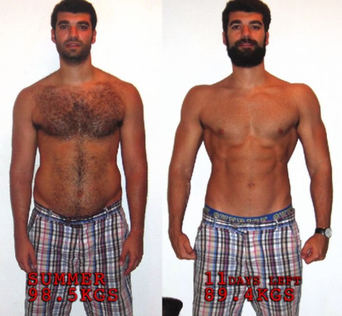 Похудел за два месяца (11 фото)