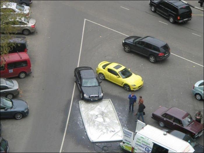 Передвижная мойка автомобилей (11 фото)